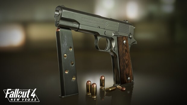 Fallout 4 Revolver Mod