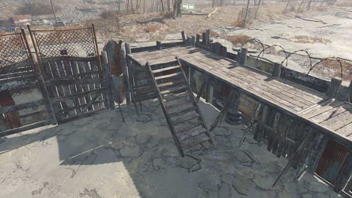 Fallout 4 Sanctuary Wall Mod