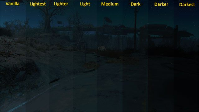 Fallout 4 Darker Nights Mod