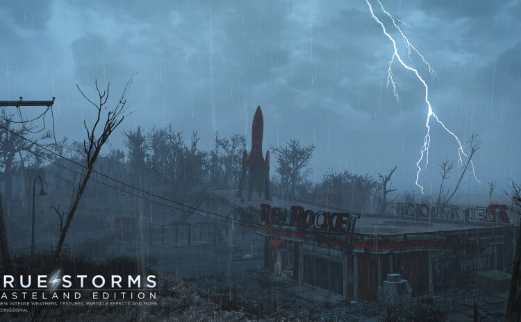 Fallout 4 True Storms Mod