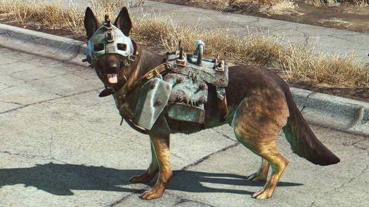 Fallout 4 Dog Meat Armor Mod