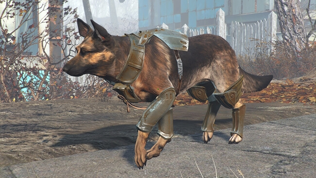 Fallout 4 Dog Meat Armor Mod