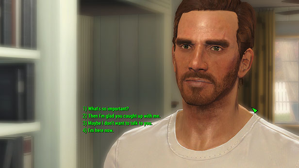 Fallout 4 Full Dialogue Interface