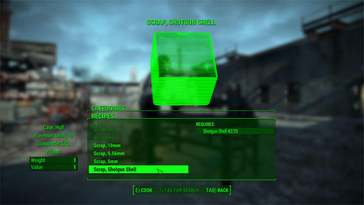 Fallout 4 Ammo Crafting