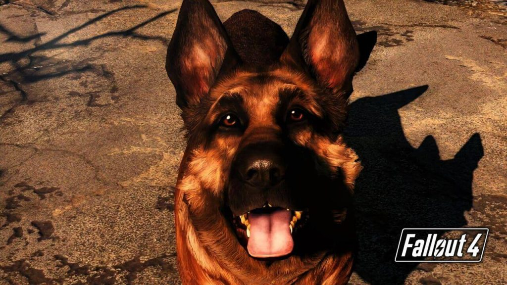 Where is Dogmeat in Sanctuary Fallout 4