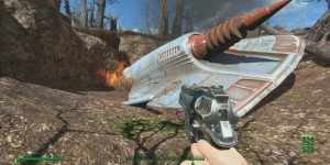 Where to Find Crashed UFO And Alien Blaster in Fallout 4