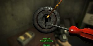 fallout 4 how to pick locks
